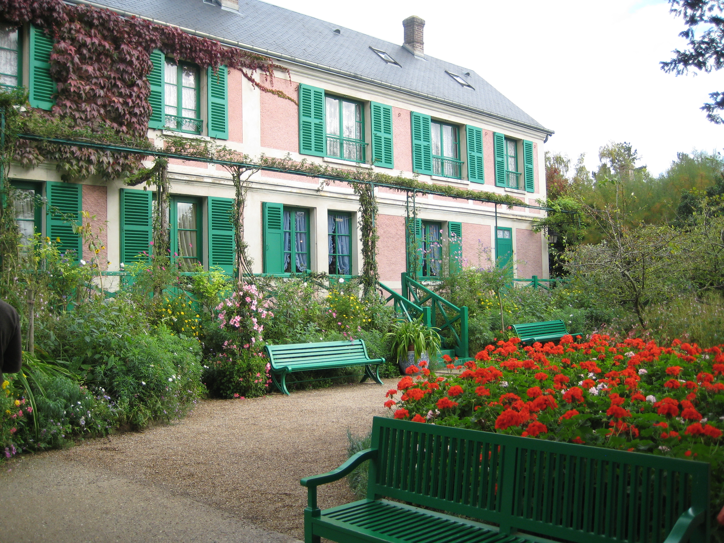 Claude monet s home and garden at giverny the france project for Monet home