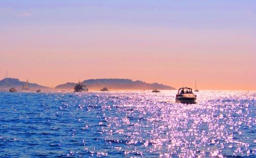 Sunset at Sea, Marseille