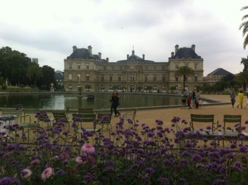 Le relais de l entrec te the france project for Cafe jardin du luxembourg