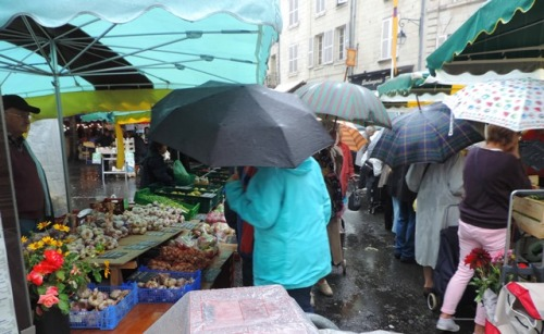 Raining Day at the Market