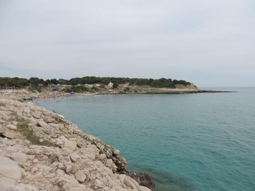 Rocky sea scape